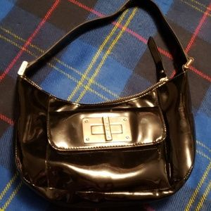 Vintage Ralph Lauren Black Patent purse